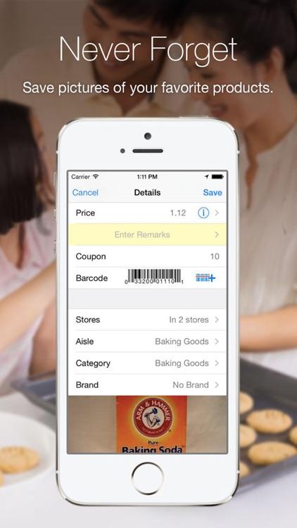 Grocery Gadget Shopping List screenshot-3