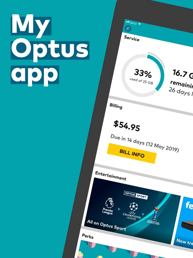 My Optus on the App Store