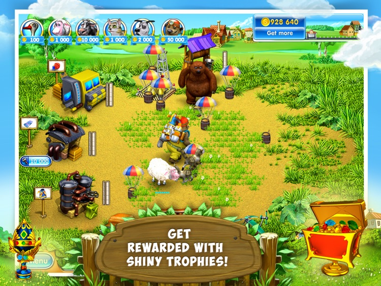 Farm Frenzy 3: Village HD Lite screenshot-3