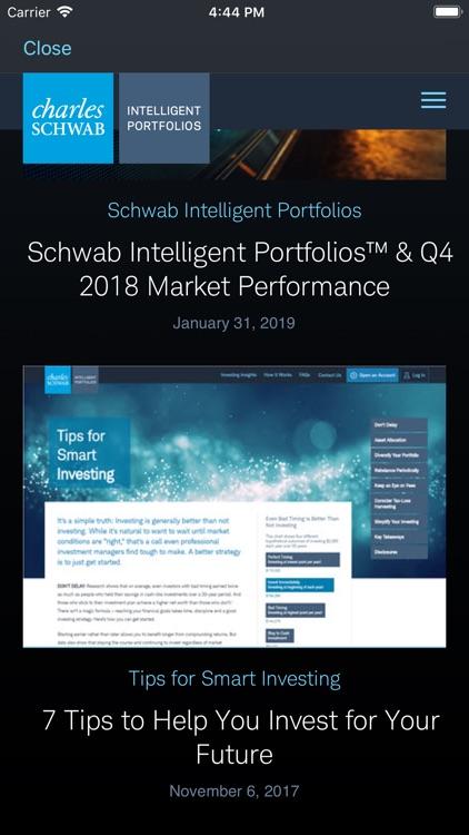 Schwab Intelligent Portfolios screenshot-5