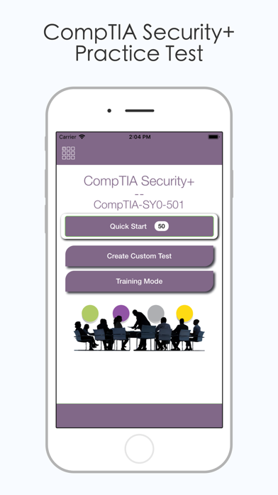 Screenshot #1 pour CompTIA Security+ (SY0 501)