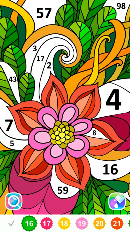 Line Art: Coloring book