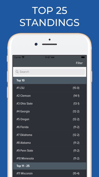 Navy Football Schedules screenshot-5