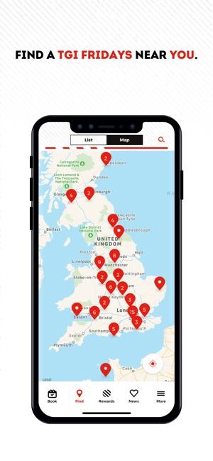 TGI Fridays UK on the App Store