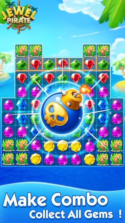 Jewel Pirate - Matching Games
