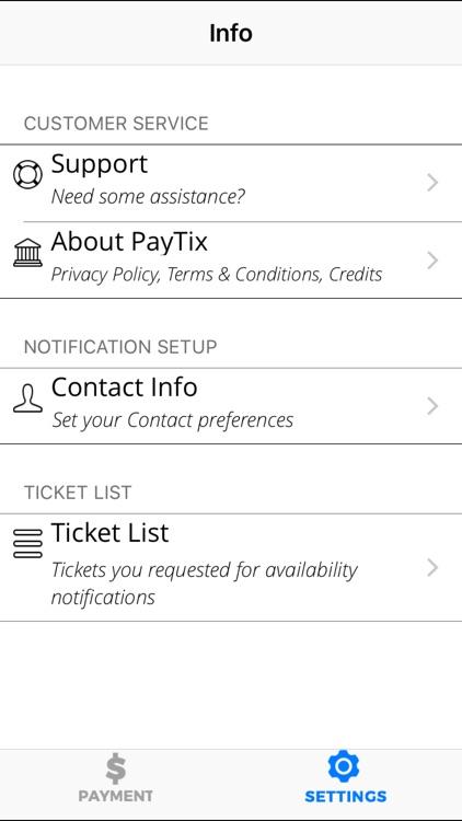 PayTix screenshot-4