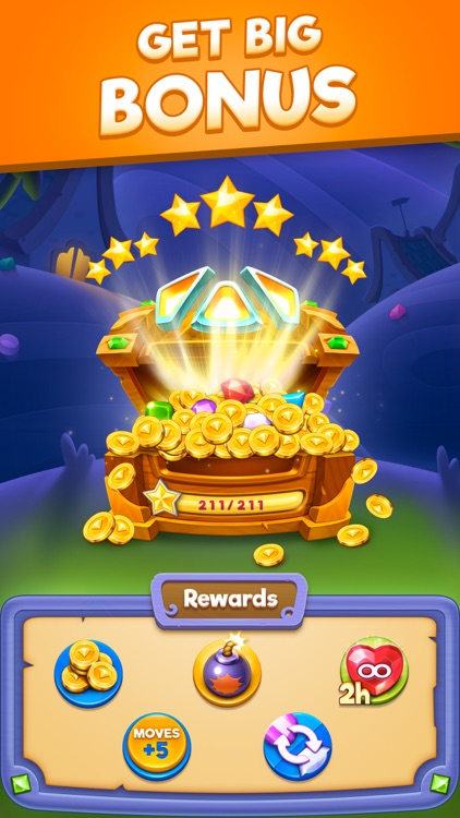 Bling Crush-Gem Match 3 Puzzle screenshot-6