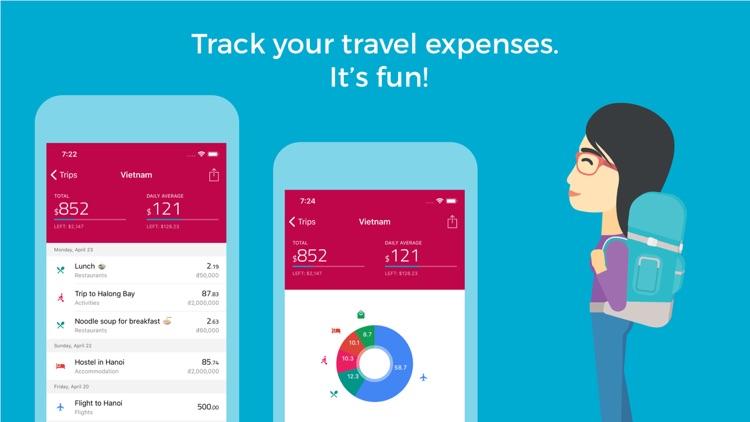 TravelSpend - Travel Budget by Jonas Luthke