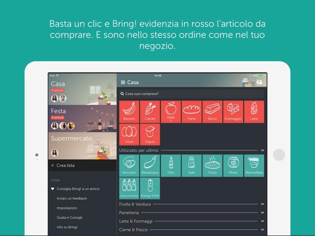 Bring Lista Della Spesa Su App Store