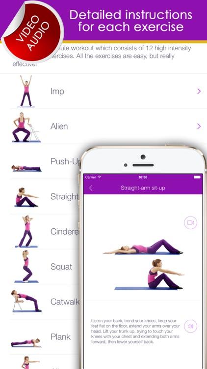 Fitness exercises for women