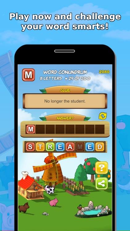 Word Jumble Farm screenshot-0