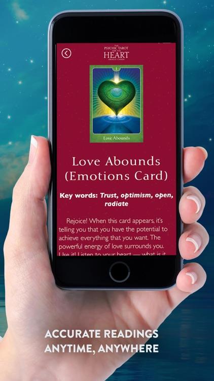 Psychic Tarot for the Heart screenshot-4