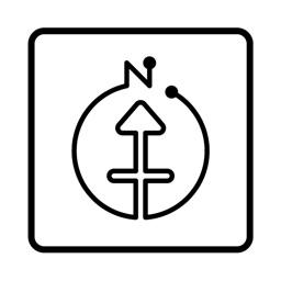 方位ポン【九星気学】にしけい氏監修方位地図アプリ