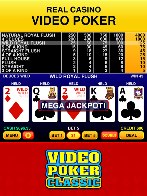 Screenshot #4 pour Video Poker Classic - 39 Games