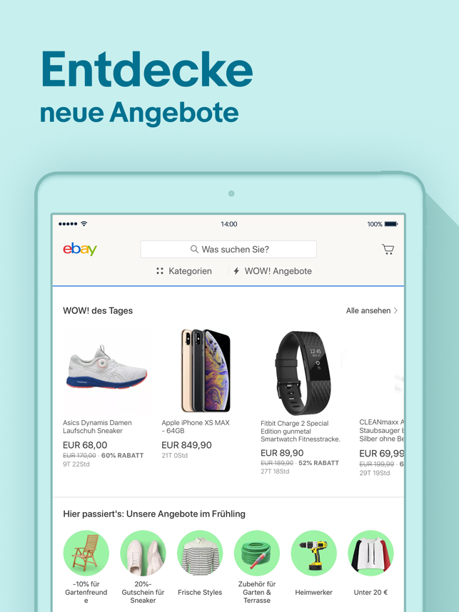 ‎eBay: Angebote & Rabatte Screenshot