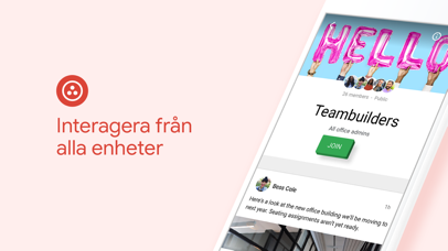 Screenshot for Google+ för G Suite in Sweden App Store