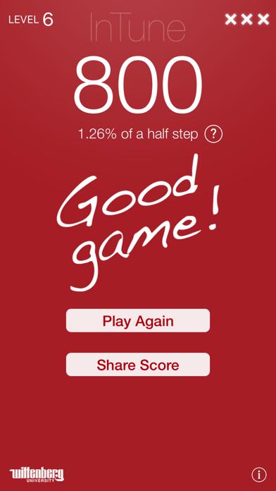 InTune – Intonation Trainer Screenshots
