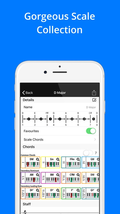 Piano Companion: Chords,Scales screenshot-4