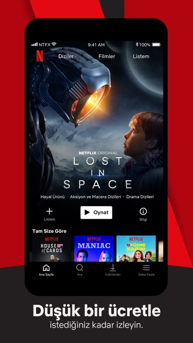 Screenshot for Netflix in Turkey App Store