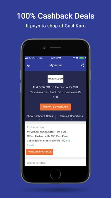 点击获取CashKaro App- Highest Cashback