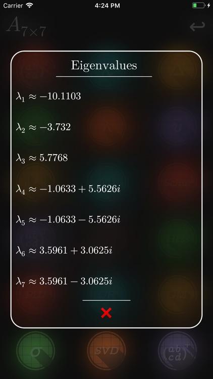 Matrix Numerics screenshot-5