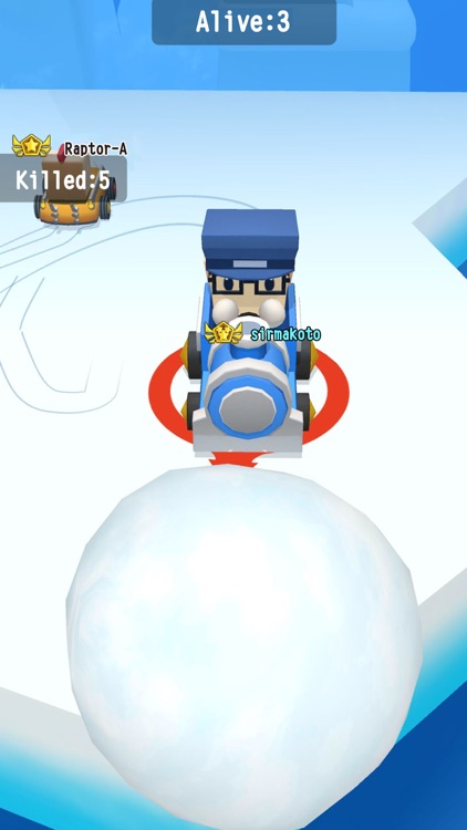 SnowBumper.io - go kart frenzy screenshot-1