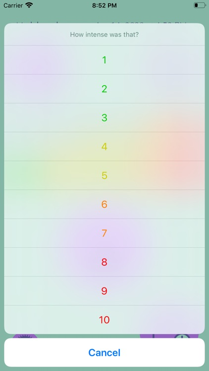 Partogram Contraction Tracker screenshot-3