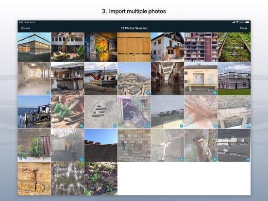 Site Audit Pro iPad captures décran