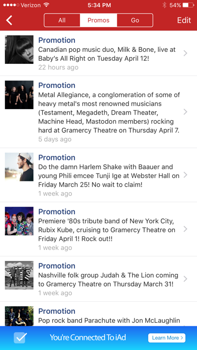 Loudie Concerts: Watch, Discover & Free Tickets screenshot