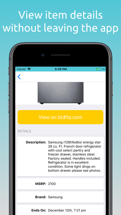 FTSearch - Fast Track Bid Tool app image