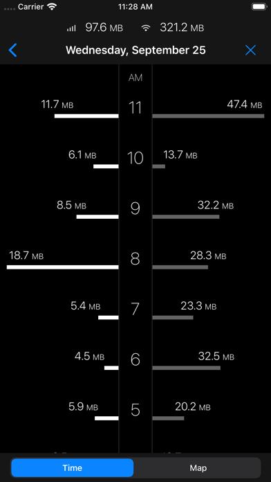 DataMan - track data usage Screenshots