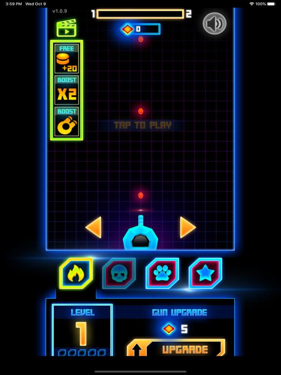 Neon Blaster Shooter screenshot 1
