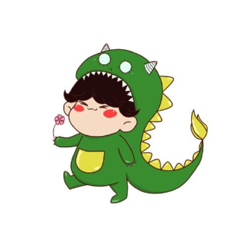恐龙表情包贴图