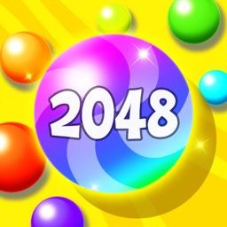 2048 Balls: Merge Magic Bubble