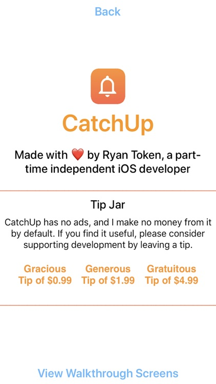 CatchUp - Keep in Touch screenshot-3