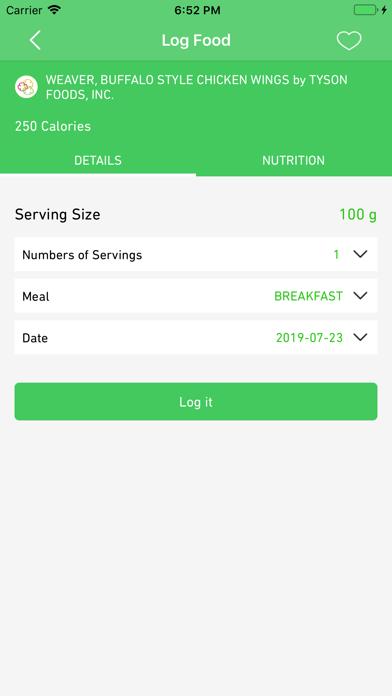 Calorie Calculator - EatRytte screenshot 5
