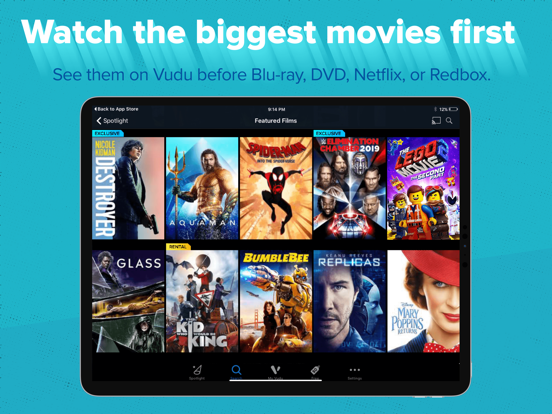Vudu - Movies & TV - Revenue & Download estimates - Apple App Store - US