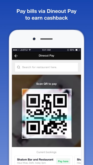 Screenshot for Dineout: Restaurant Offers in India App Store