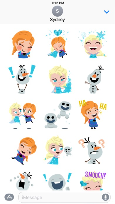 Disney Stickers: Frozen