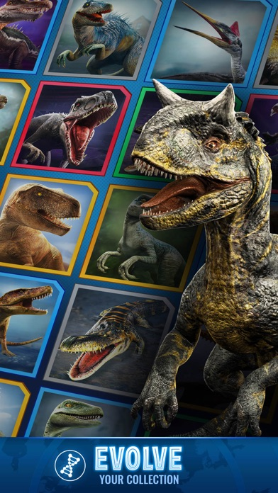 Jurassic World Alive wiki review and how to guide