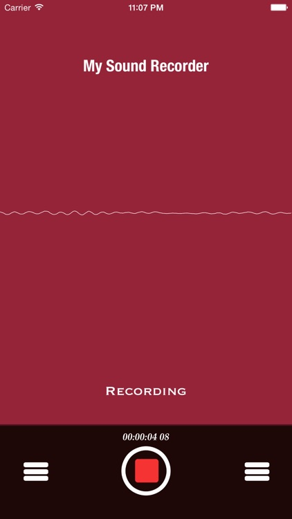 My Sound Record Lite screenshot-0