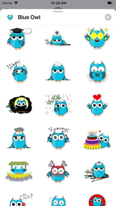 Blue - Owl screenshot 2