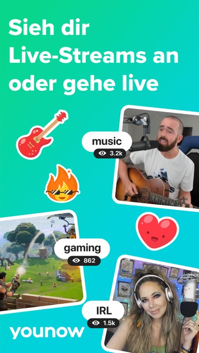 Herunterladen YouNow: Live Stream Video Chat für Pc