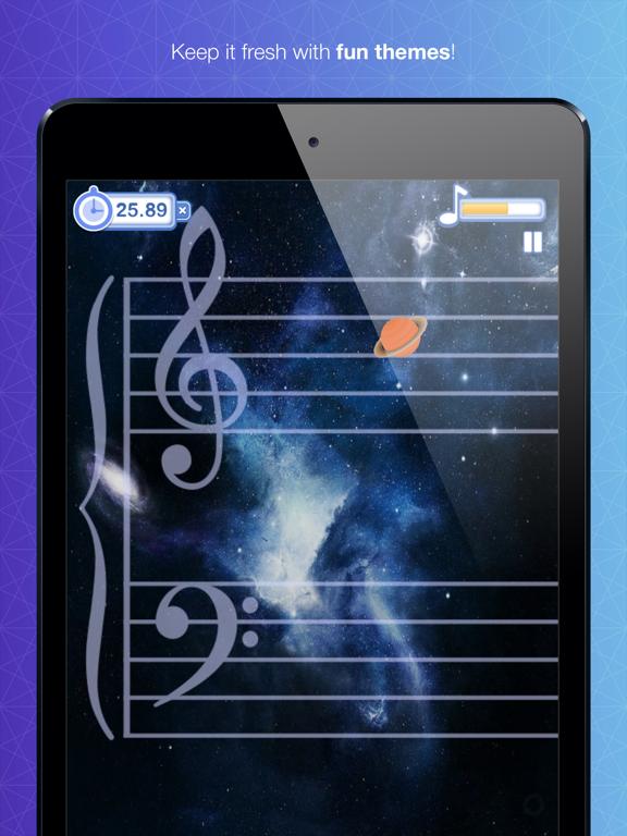 Note Rush: Music Reading Gameのおすすめ画像3