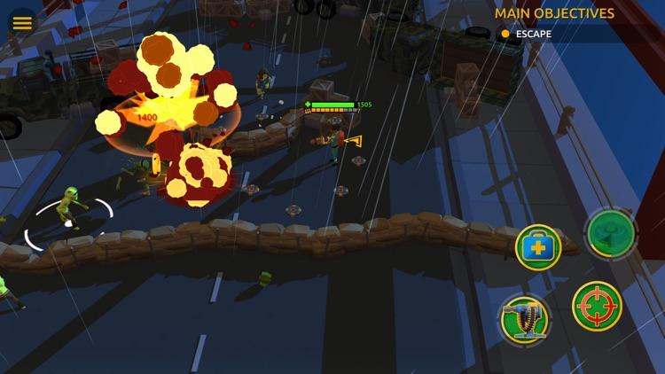 Zombie Blast Crew screenshot-5