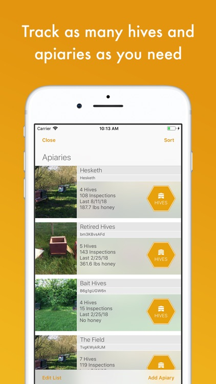 BeePlus Beekeeping Manager screenshot-3