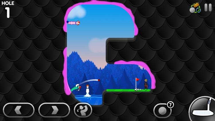 Super Stickman Golf 3 screenshot-3