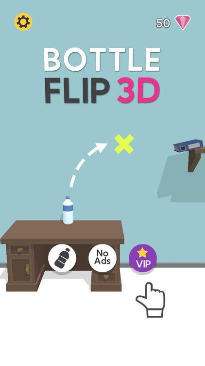 Bottle Flip 3D! screenshot-8