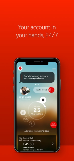 Vodafone dating nummer