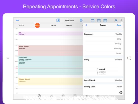 Salon Manager screenshot